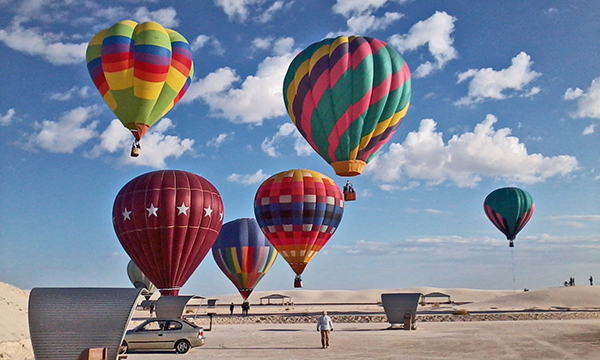 FROM THE 20TH WHITE SANDS HOT AIR BALLOON INVITATIONAL - SEPTEMBER 16-18, 2011. Photo: Thelma Sharber