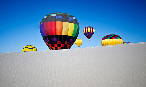 White Sands Hot Air Balloon Invitational 2012 - Photo: Kevin Pfister