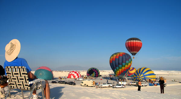White Sands Hot Air Balloon Invitational