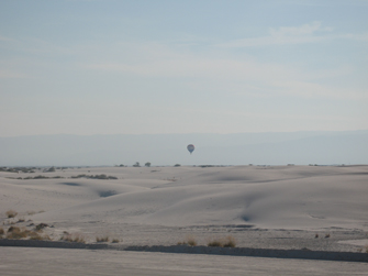 REMAXX balloon over White Sands Missile Range