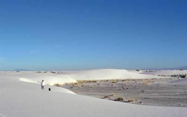 Dunes at White Sands National Monument USA