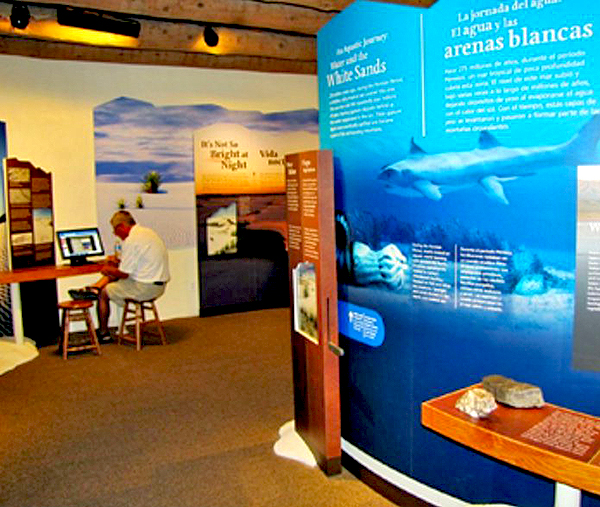 New Exhibits: White Sands Visitor Center